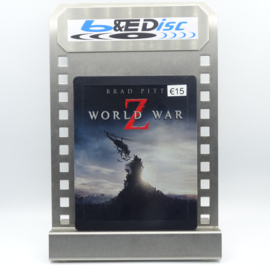 World War Z (Blu-ray, Steelcase)