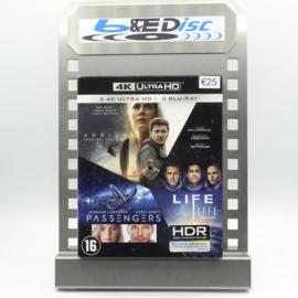 Arrival - Life - Passengers (4K Ultra HD + Blu-ray)