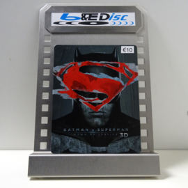 Batman V Superman: Dawn Of Justice (Blu-ray 3D + Blu-ray, Steelcase)