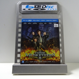 Three Musketeers, The (Blu-ray 3D + Blu-ray + DVD + Digital Copy)