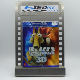 Ice Age 3 : Dawn Of The Dinosaurs (Blu-ray 3D + Blu-ray + DVD)