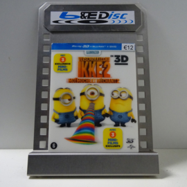 Verschrikkelijke Ikke 2 (Blu-ray 3D + Blu-ray + DVD)