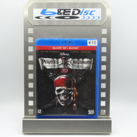 Pirates Of The Caribbean: On Stranger Tides (Blu-ray 3D + Blu-ray)
