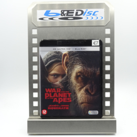 War For The Planet Of The Apes (4K Ultra HD + Blu-ray)
