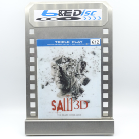 "Saw 3D ""Saw 7"" (Blu-ray 3D / 2D versie + DVD)"