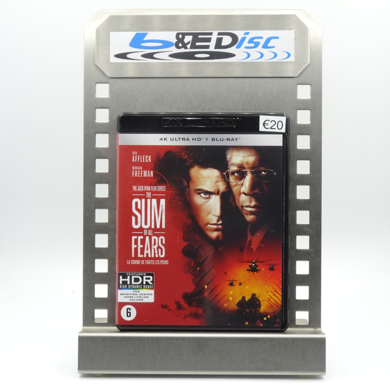 Sum Of All Fears, The (4K Ultra HD + Blu-ray)