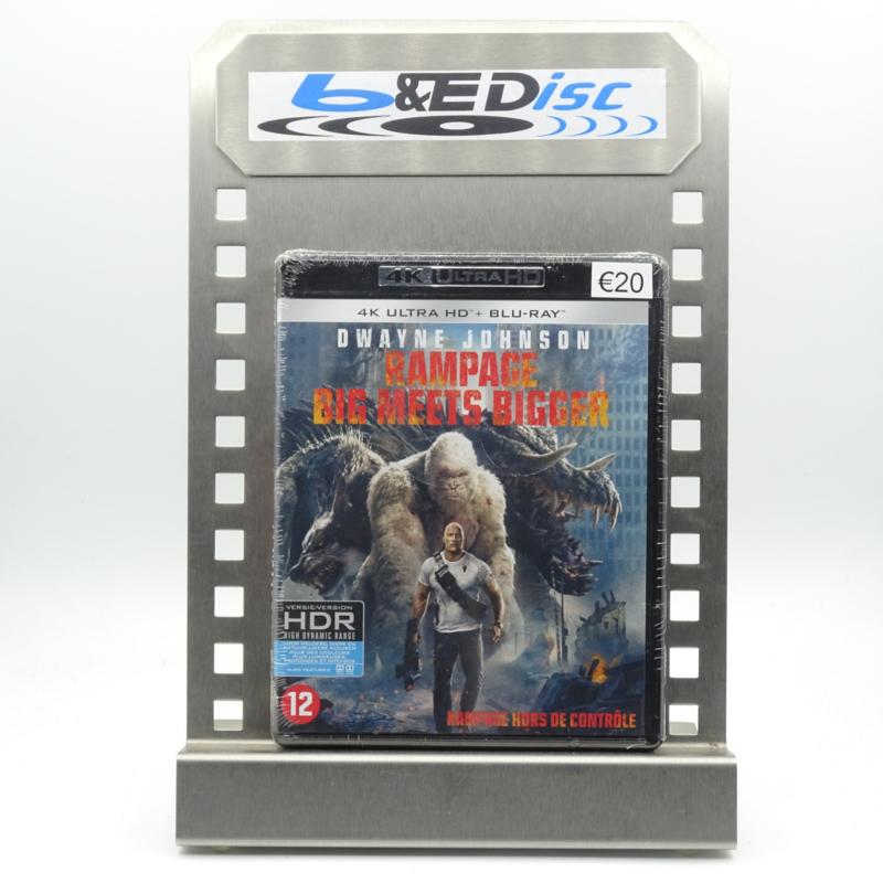 Rampage : Big Meets Bigger (4K Ultra HD + Blu-ray)