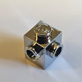 Brick, Modified 1 x 1 with Studs on 2 Sides, Adjacent