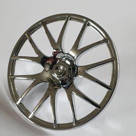 Wheel Cover 7 Spoke V Shape - 36mm D.
