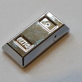 Minifig, Utensil Gold Ingot / Bar