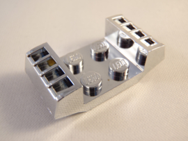 Plate, Modified 2 x 2 with Grills