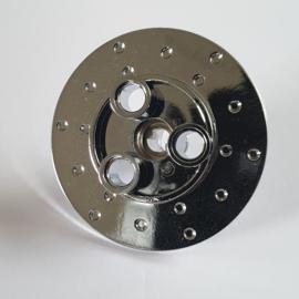 Technic, Steering Wheel Hub 3 Pin Holes Round