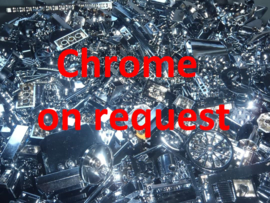 Chrome part on request