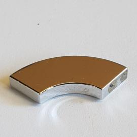 Tile, Round Corner 2 x 2 Macaroni