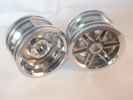 Wheel 30.4mm D. x 20mm with No Pin Holes and Reinforced Rim