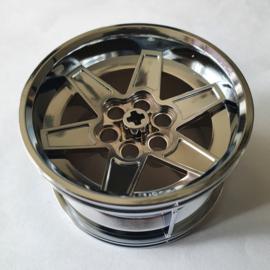 Wheel 56mm D. x 34mm Technic Racing Medium, 6 Pin Holes