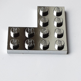 Plate 4 x 4 Corner