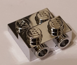 Plate, Modified 2 x 2 x 2/3 with 2 Studs on Side