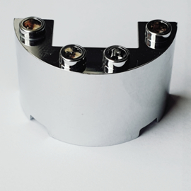 Cylinder Half 2 x 4 x 2 with 1 x 2 Cutout