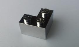 Brick 2 x 2 with corner