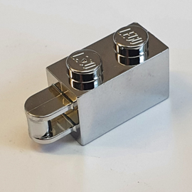 Brick, Modified 1 x 2 with Handle on End - Bar Flush with Edge of Handle