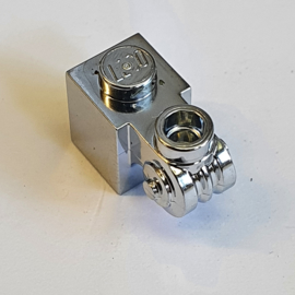 Brick, Modified 1 x 1 with Scroll with Hollow Stud
