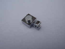 Plate, Modified 1 x 1 with Clip Horizontal (thick open U clip)