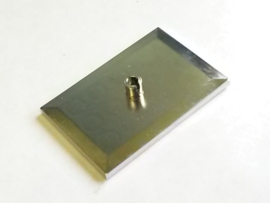 Train Bogie Plate (Tile, Modified 6 x 4 with 5mm Pin)