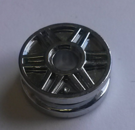 Wheel 18mm D. x 8mm with Fake Bolts and Shallow Spokes