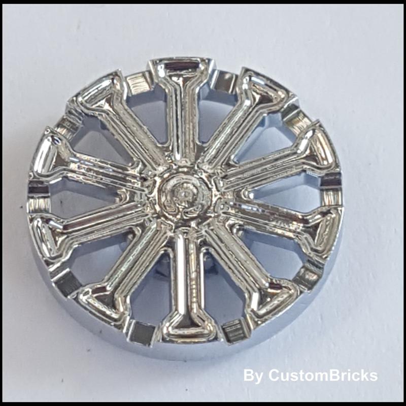 Wheel Cover 10 Spoke T Shape - for Wheel 18976