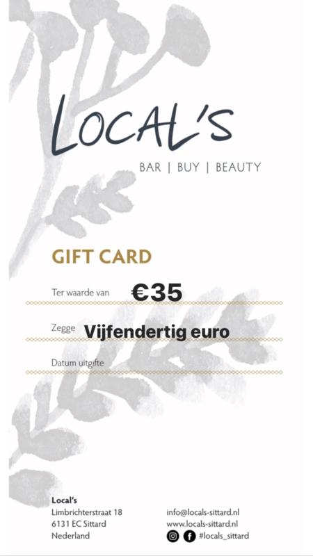 Vijfendertig euro