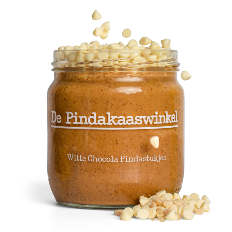 De Pindakaaswinkel WITTE CHOCOLADE
