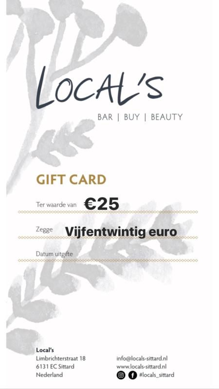 Vijfentwintig euro