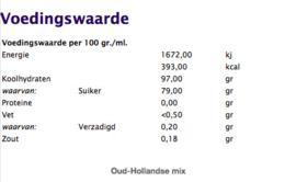 Oud-Hollandse mix