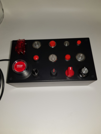VR usb button box 23 functions, without back-lit functionality for simracing and flight simulation