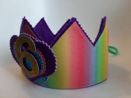 Verjaardagskroon Rainbow
