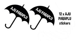 Aju Paraplu sticker DIY