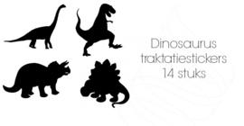 Traktatiestickers Dinosaurus