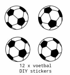 Traktatiestickers Voetbal