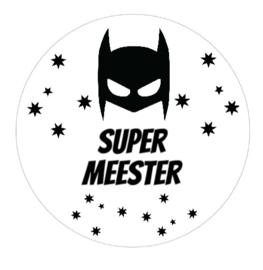 Stickervel supermeester