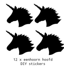 Traktatiestickers Unicorn