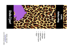 Knijpfruitwikkel Luipaard (PDF printable)