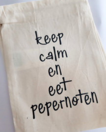 Pepernotenzak Keep Calm