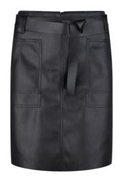 Esqualo - Skirt PU fancy waistbelt