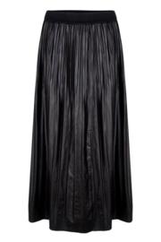 Esqualo - Skirt long fake PU
