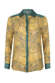 Esqualo - Blouse paisley wheat print