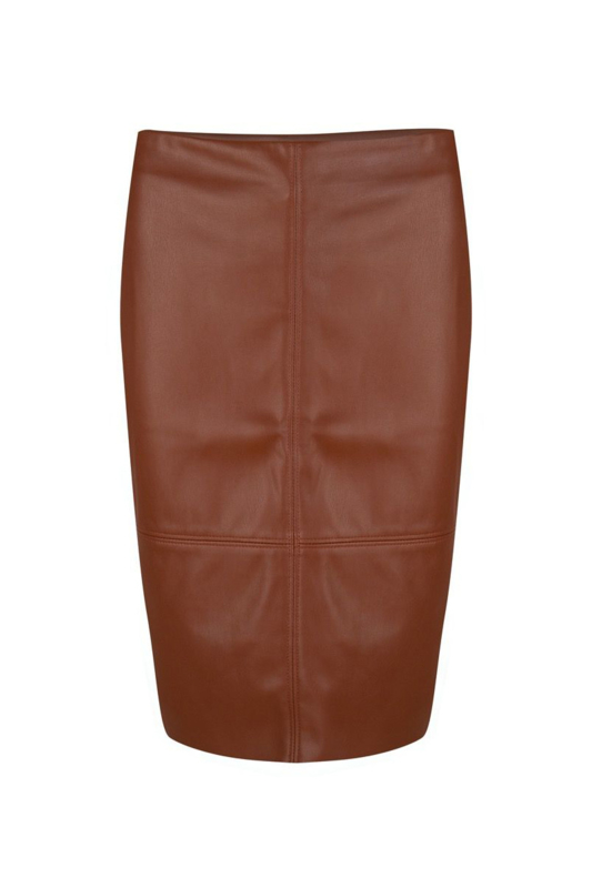 Esqualo - Skirt PU pencil