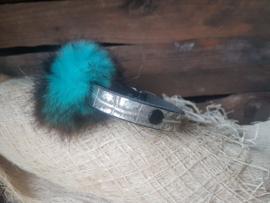 Pluisje Blauw 1,5 cm