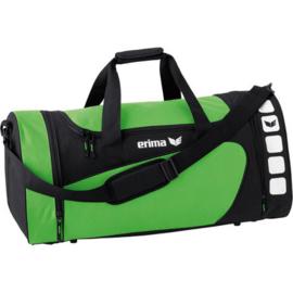 Erima Club 5 Sporttas - Groen / Zwart - M