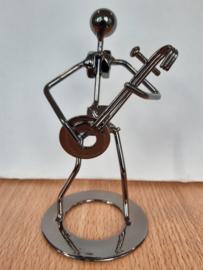 Draadfiguur Banjo speler